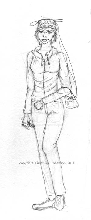 Sketchavember 2011: Day One