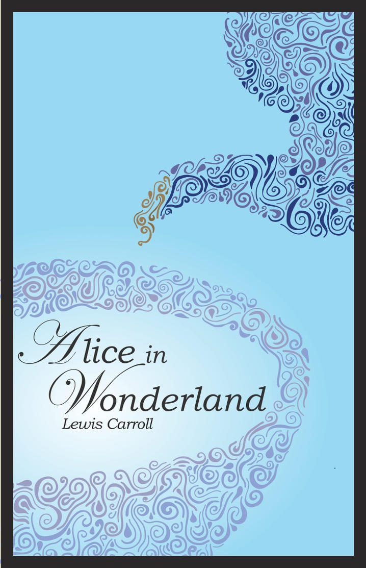 Alice In Wonderland Classic Book Cover ~ Alice in wonderland book cover by lisaharms on deviantart