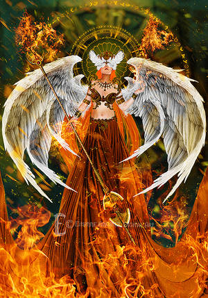 Flame Guardian by Eithnne