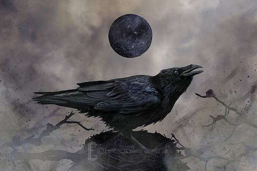 Obsidian Moon by Eithnne