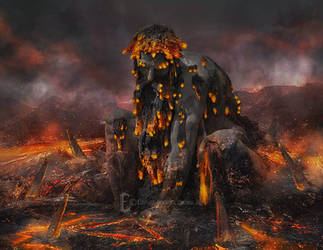 Four Elements - Molten Giant by Eithnne