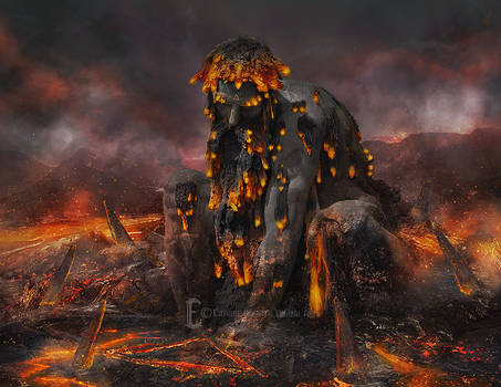 Four Elements - Molten Giant