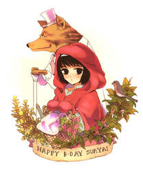 Little Red Riding Hood by kissai