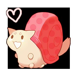 Pink Snail by kissai