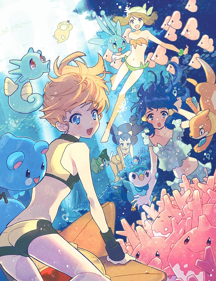 Pokemon:: Ocean Princesses by kissai