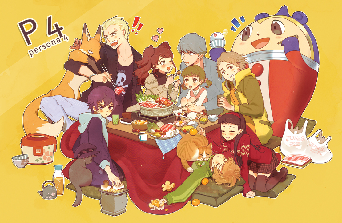 Persona 4:: Nabe by kissai on DeviantArt