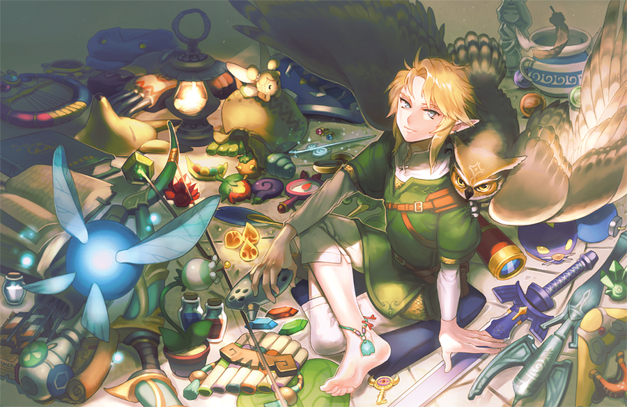 The Legend Of Zelda Back From The Journey By Kissai On