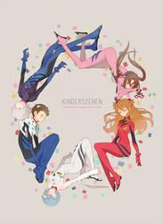 Neon Genesis Evangelion: Kinderszenen by kissai