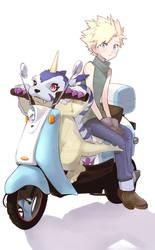 Yamato(Matt)+Gabumon