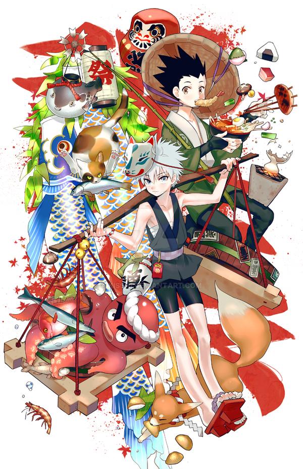HxH:Festival! by kissai