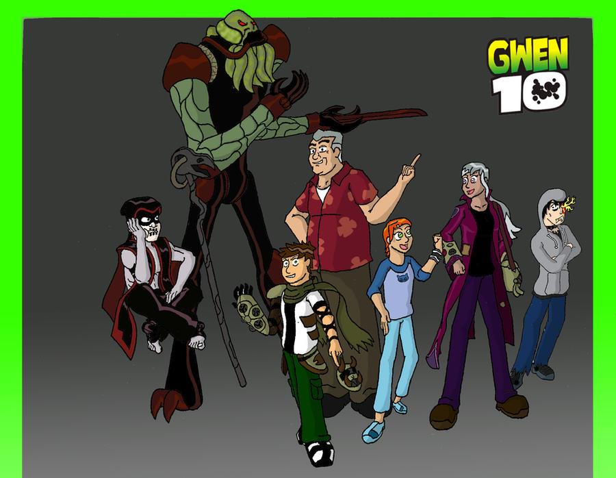 Ben 10 And Gwen Fanfiction-6839