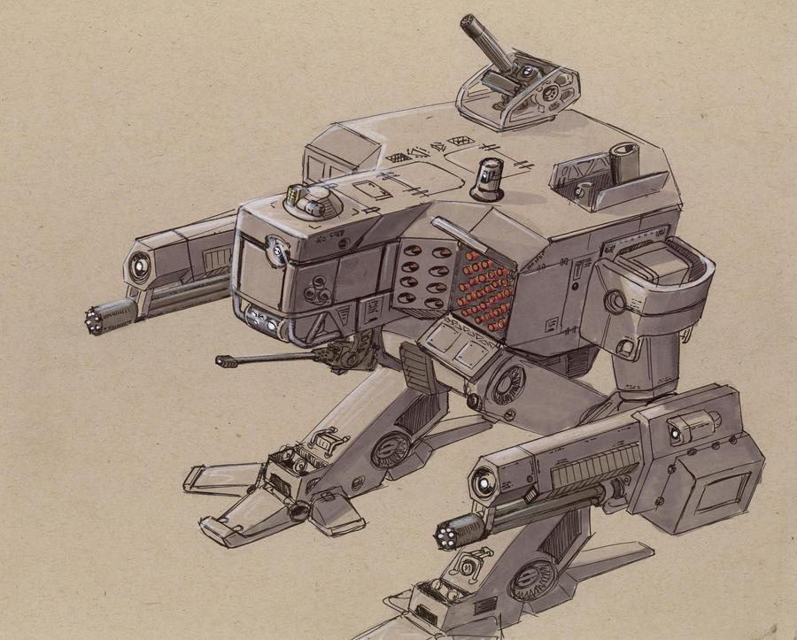 Arbalest AMW-067 by Jepray