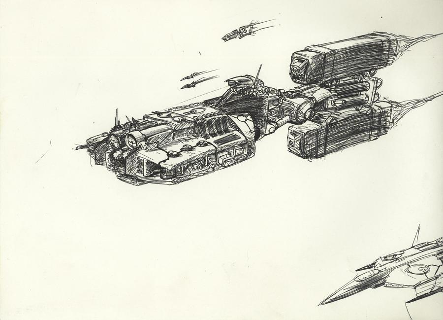 Frigate 004 by Jepray
