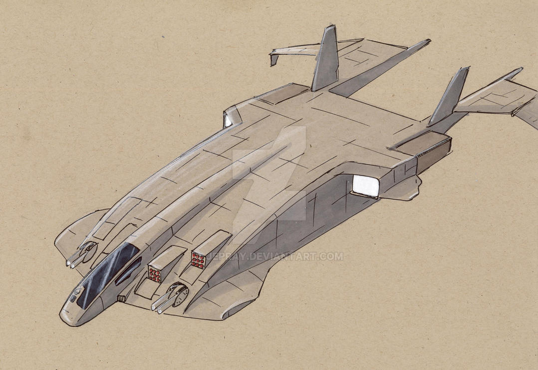 MDS-20 Apache Medium Dropship by Jepray
