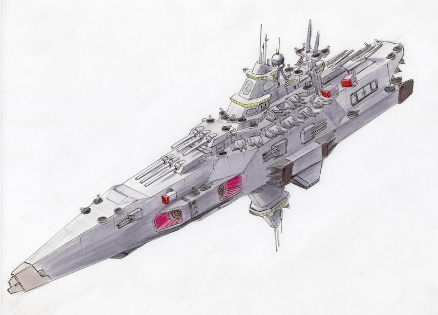 Commission: Battleship by Jepray