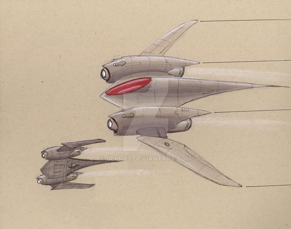 TASF-38 Black Swallow by Jepray