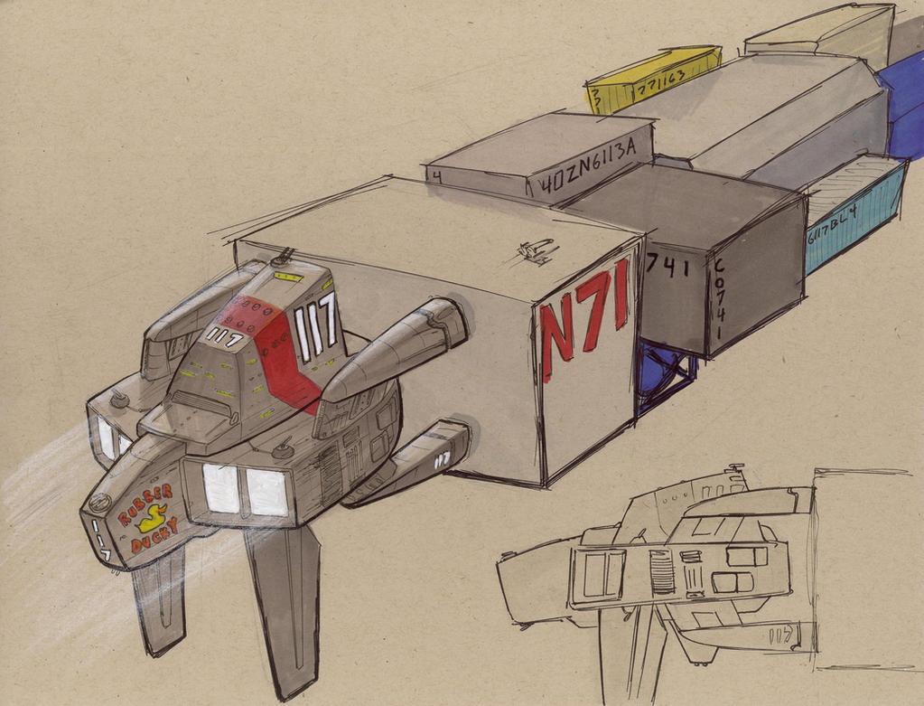 Conudyne Pachyderm Transport T by Jepray