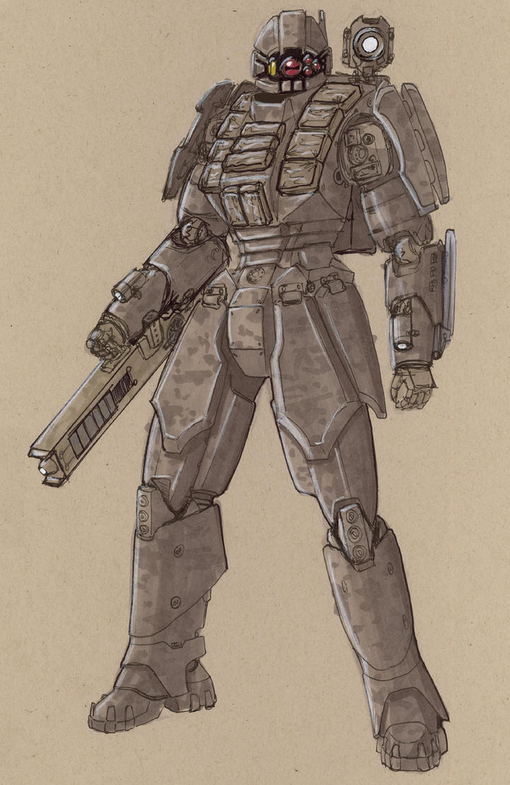 MEI ACR32 Wolfhound Combat Dro by Jepray