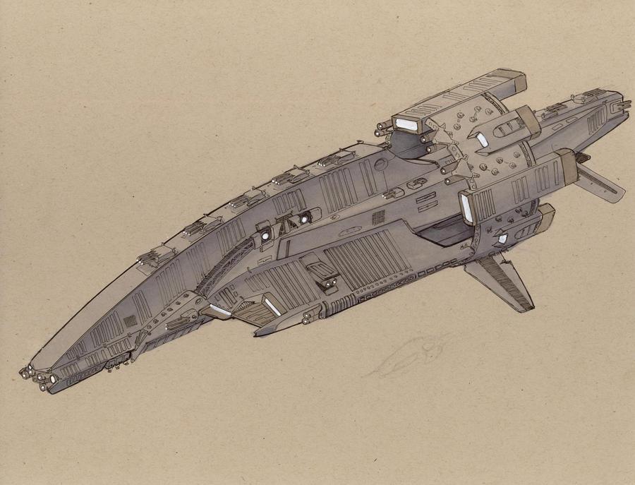 WiP Kopis class Battleship 3 by Jepray