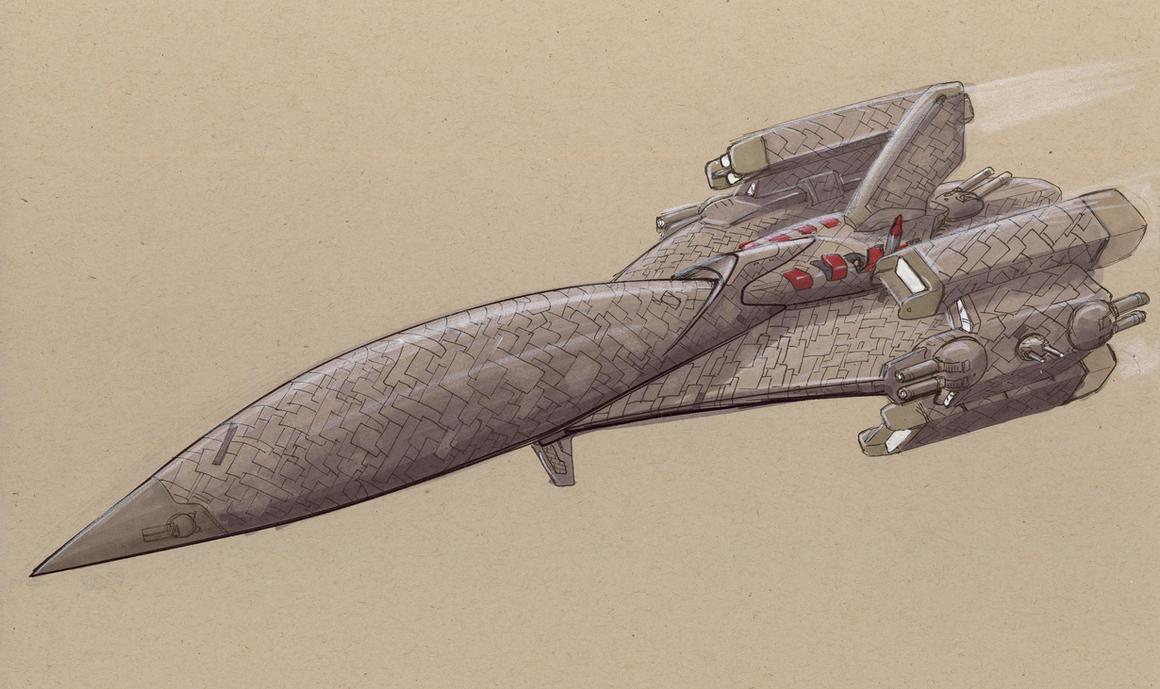 Naginata-class privateer by Jepray