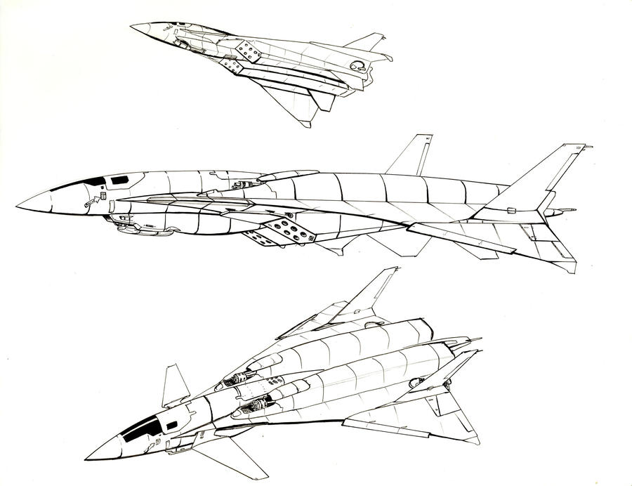 Commissioned:Aerospace fighter by Jepray