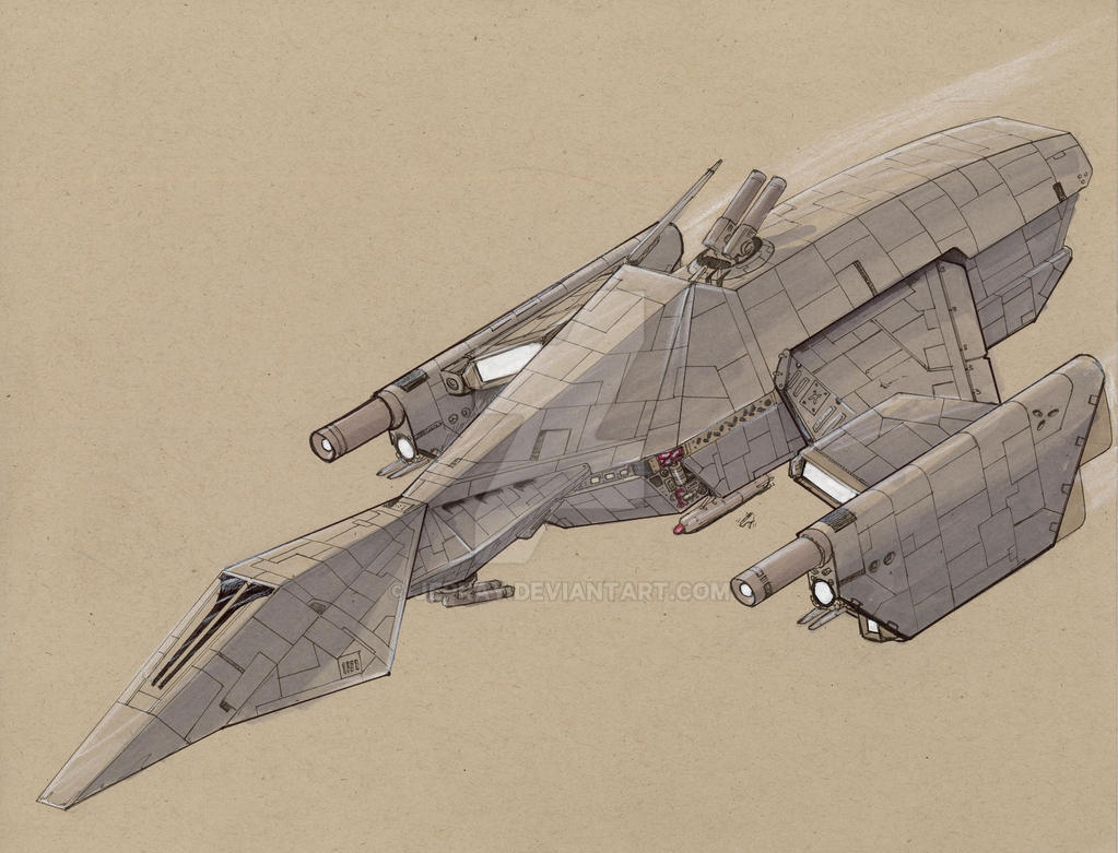 Phoenix class Freetrader by Jepray