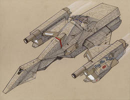 Rokh-class Freetrader by Jepray