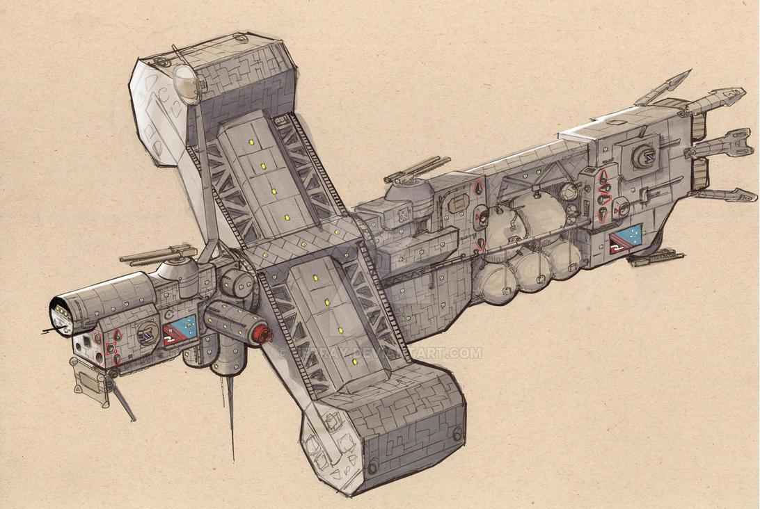 Hobart-class Destoryer 21C by Jepray