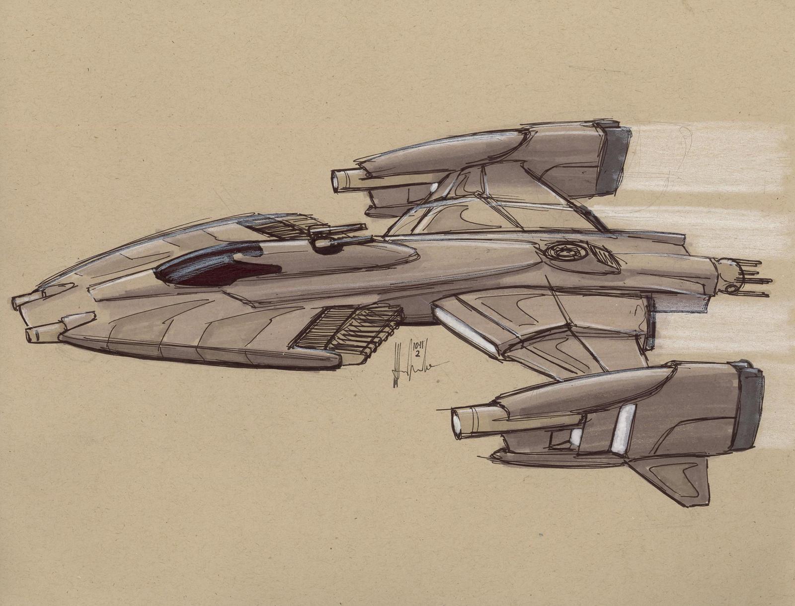 PMSC Raven Corvette by Jepray