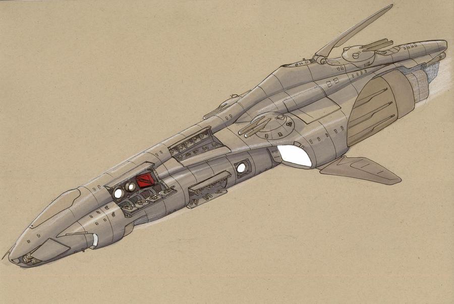 Paladin class destroyer by Jepray