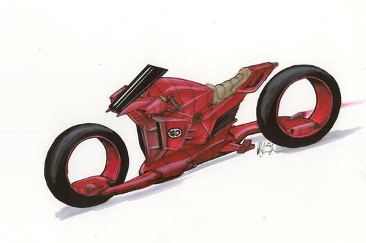 NH Daredevil Red colored