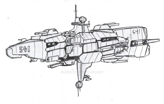 Space masters: Allies ship type 1