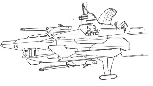 Space masters: Allies ship type J2