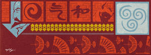 Legend of Korra Banner - Tenzin