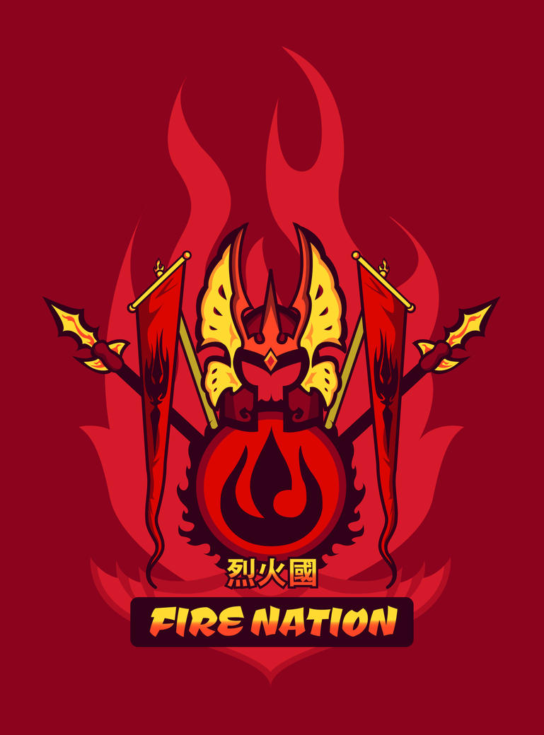 Avatar Nations Series - Fire Nation by Marissa-Meza