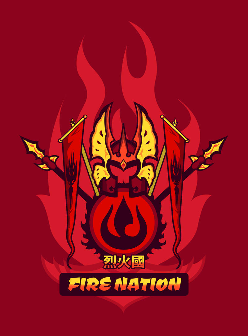Avatar Nations Series - Fire Nation by Marissa-Meza