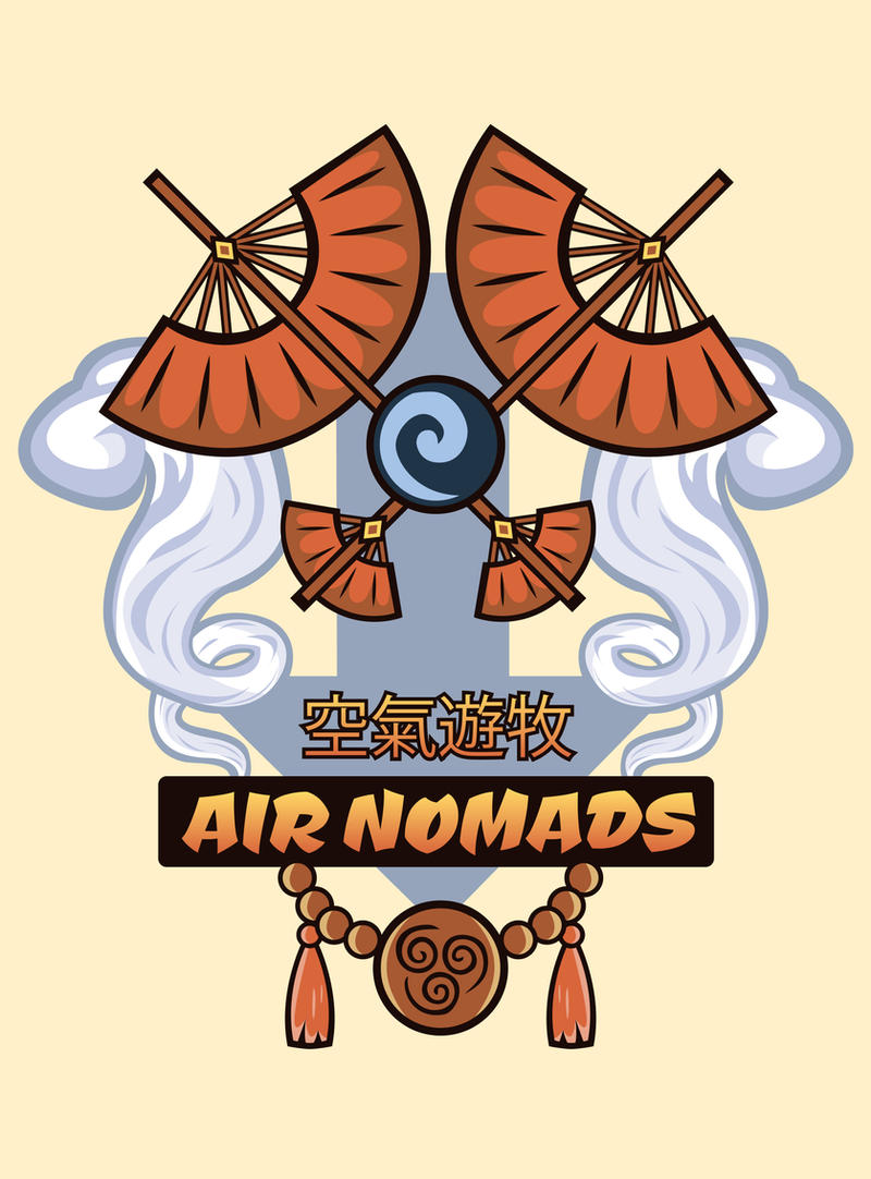 Avatar Nations Series - Air Nomads by Marissa-Meza