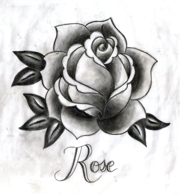Rose tattoo by starfishwish on deviantart for Rose tattoo patterns