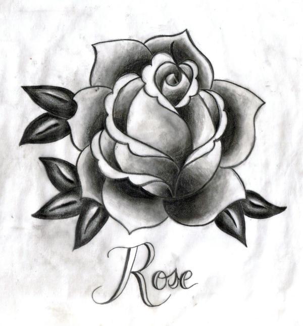 Rose Tattoo by Starfishwish on DeviantArt