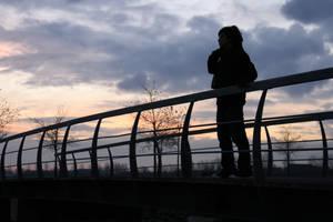 Photo: When the sun sets