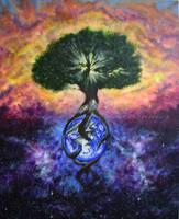 Tree of Life WIP by KumikoEharu