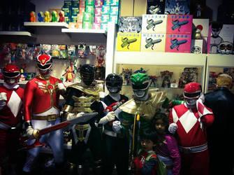 Power Rangers Art Show