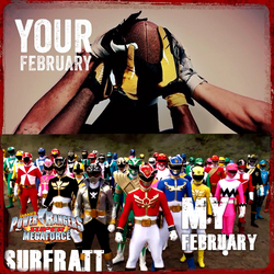 Your February My February Power Rangers