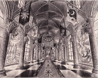 Canterlot Halls by josh-5410