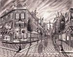 Canterlot streets interpretation