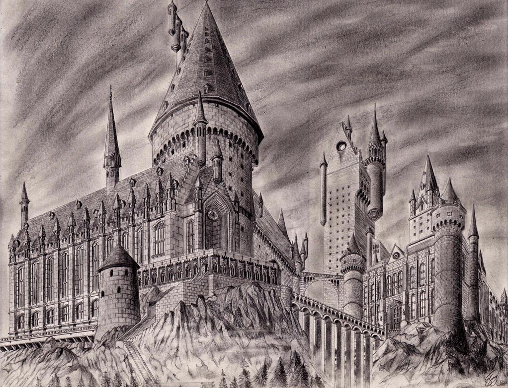 Hogwarts by josh-5410