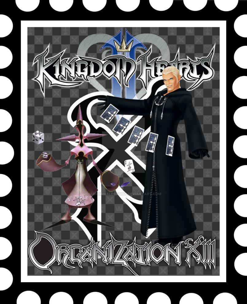Kingdom Hearts Luxord Stamp By SubliminalDestiny On DeviantArt