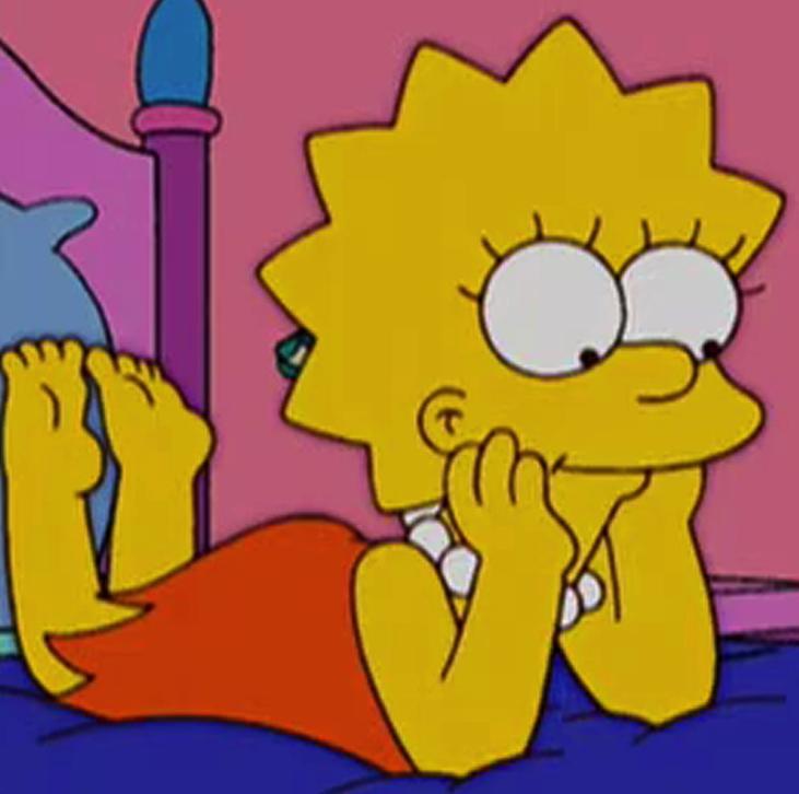 Lisa Simpson Feet