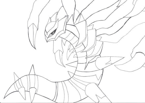 coloring pages giratina - photo#25
