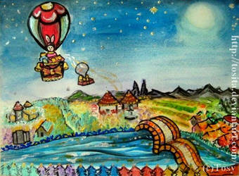 Navidad en la aldea Arco Iris by Tosita